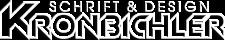 kronbichler-werbung-design-beschriftung_logo_sh